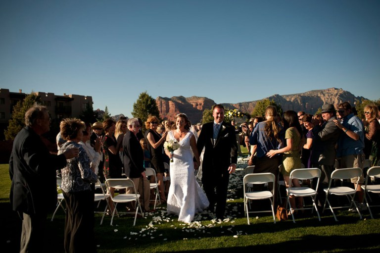 sedona golf resort wedding