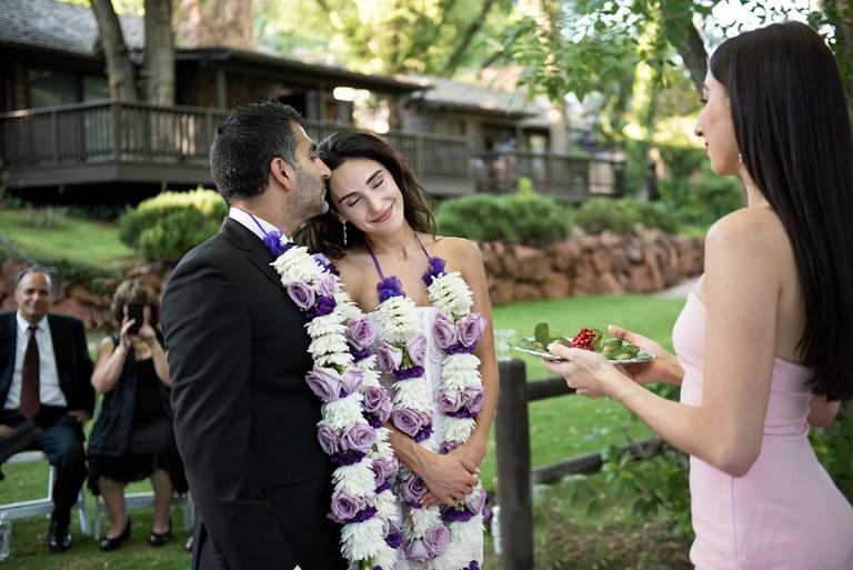 Sedona Indian wedding ceremony photography