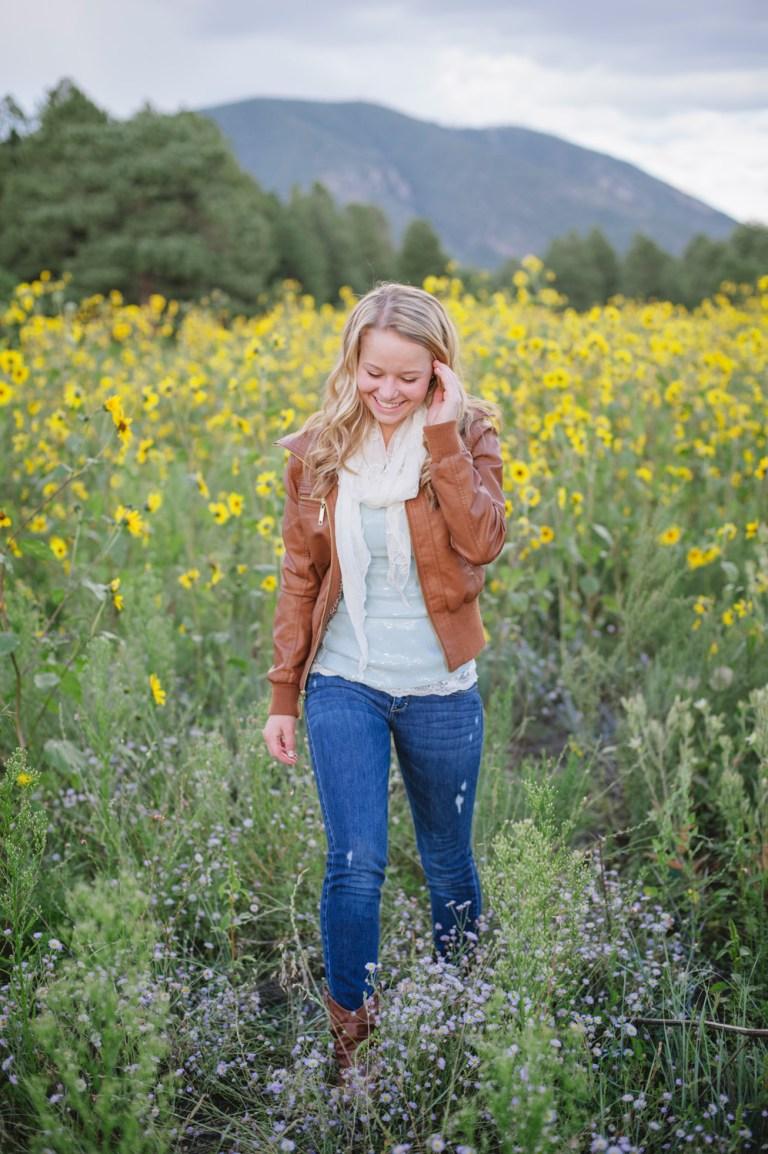 Flagstaff sunflower portrait