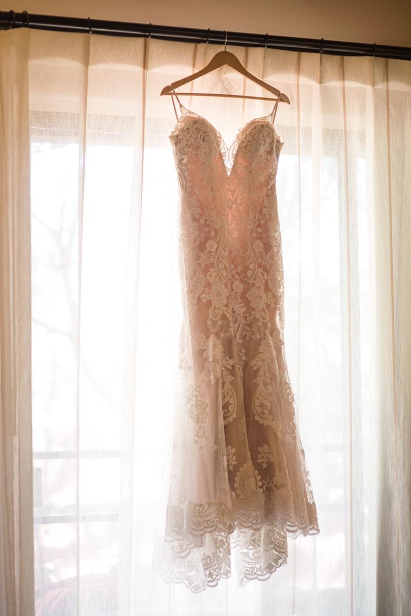 sedona wedding dress