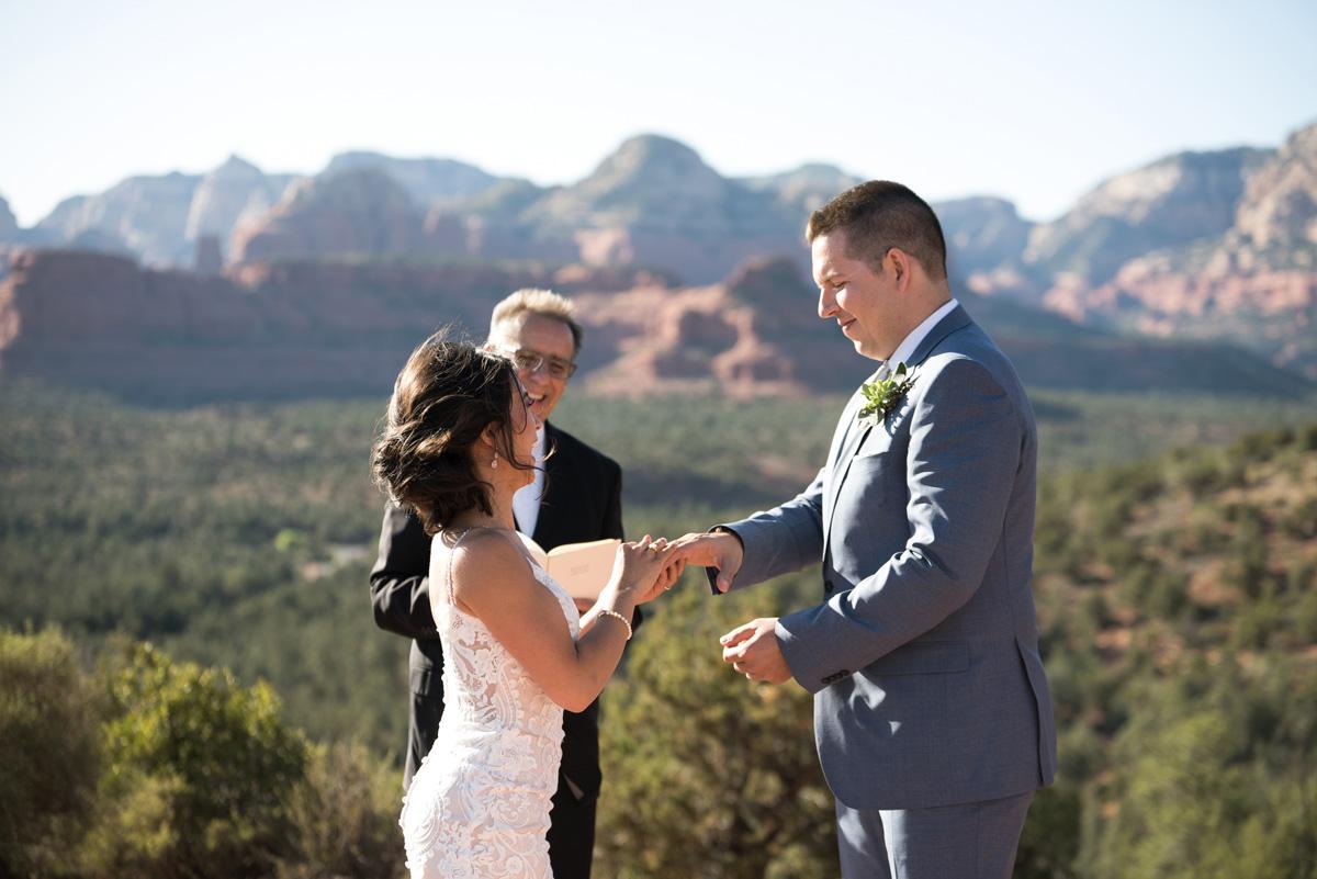 devil's bridge wedding ceremony