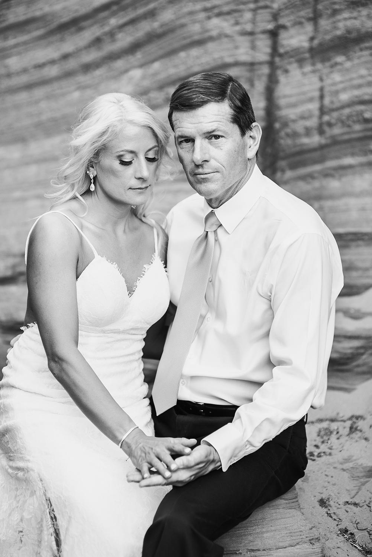adventure elopement Arizona wedding