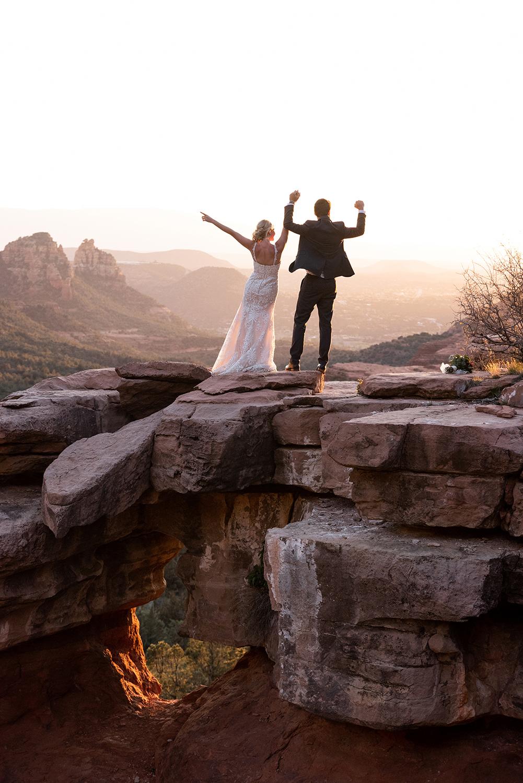 merry go round rock sunset wedding