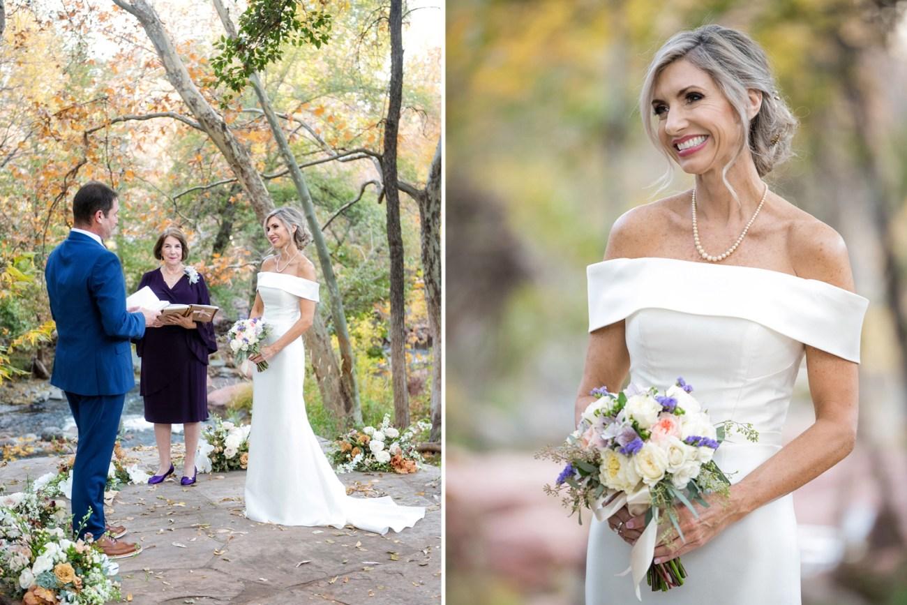 wedding ceremony photo at L'Auberge de Sedona