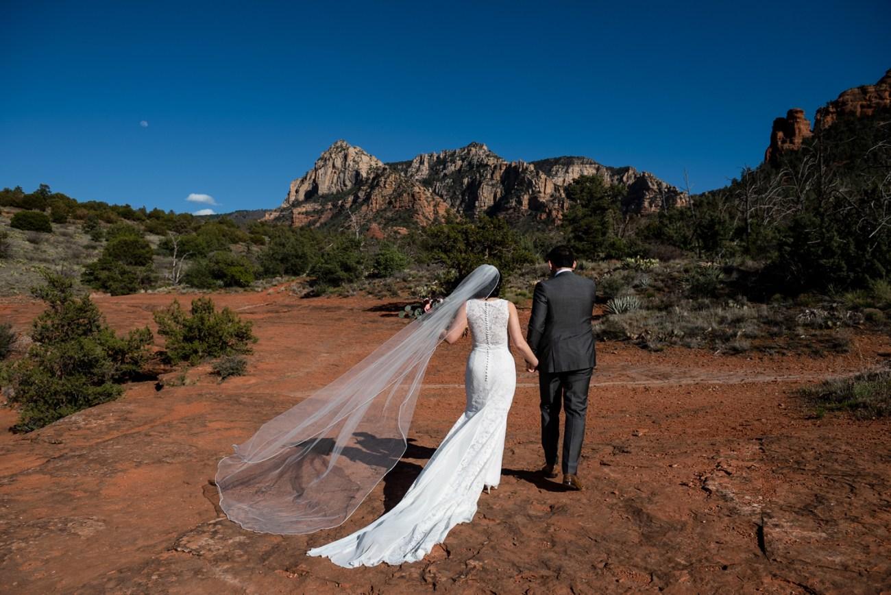 sedona red rock wedding