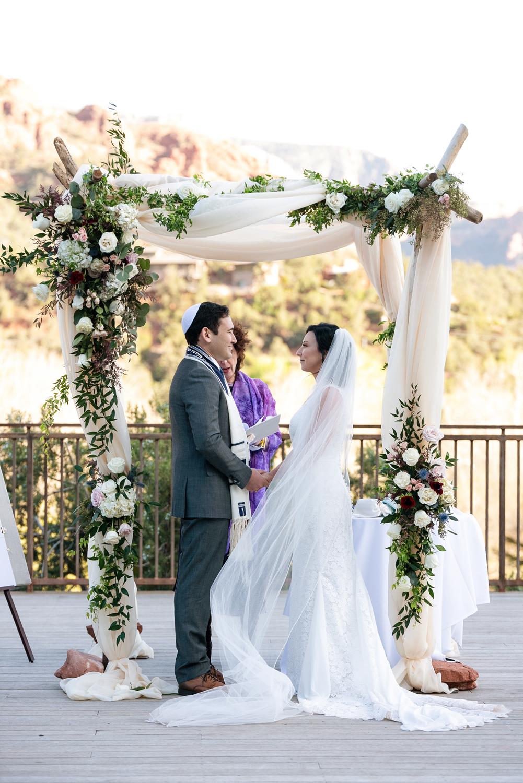 Sedona wedding chuppah