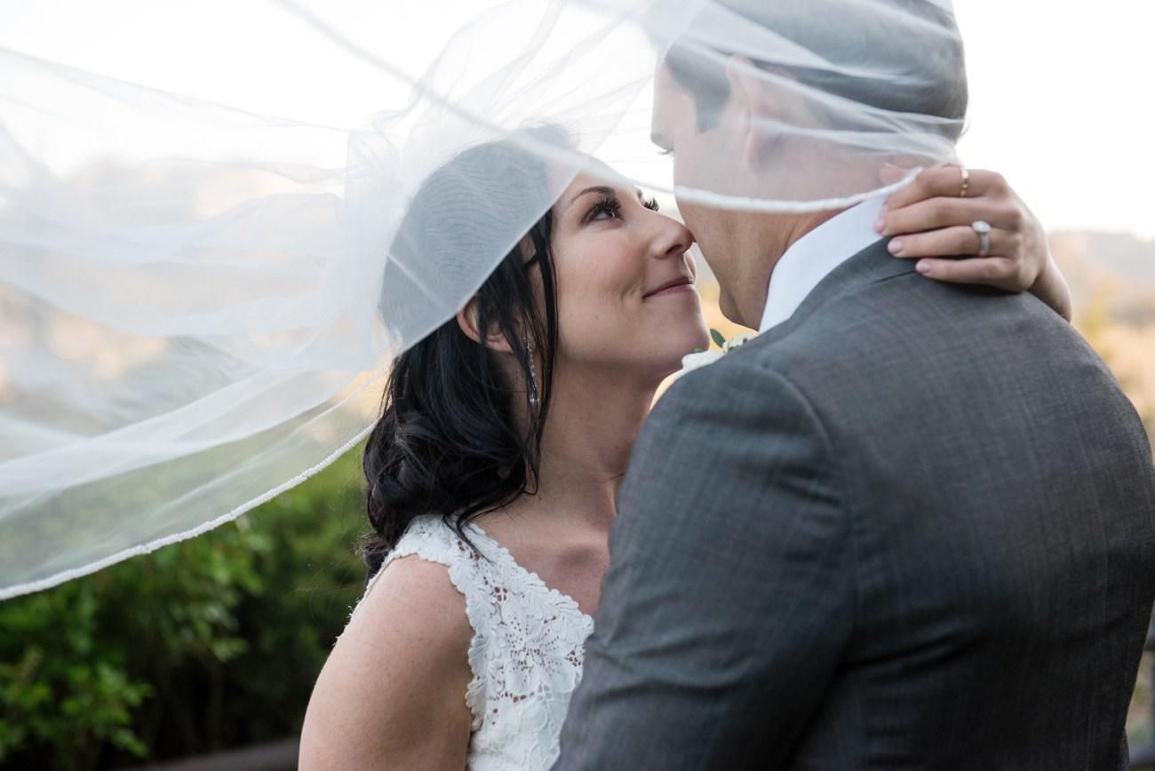 jewish wedding couple in Sedona