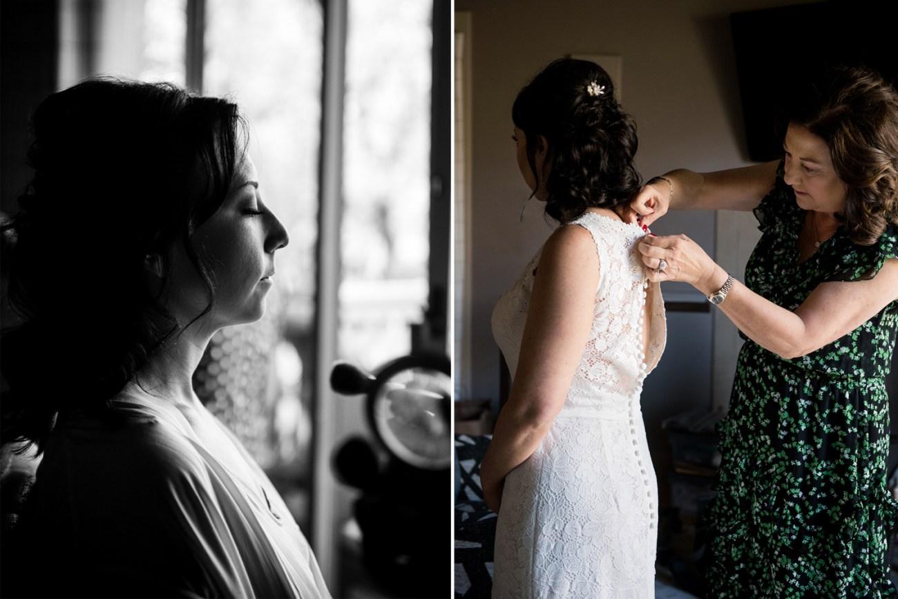 Sedona wedding getting ready
