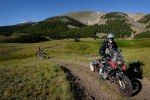 Jim Hyde with Rawhyde Adventure leading pack in Montana