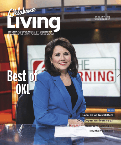 I drove to Tulsa to photograph Leanne Taylor for the January 2018 cover of Oklahoma Living Magazine.