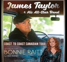 2020 Canadian Tour with Bonnie Raitt