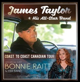 2020 Canadian Tour with Bonnie Raitt