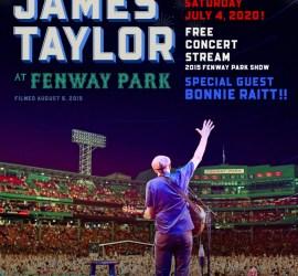 JT live stream of 2015 Fenway Park Concert