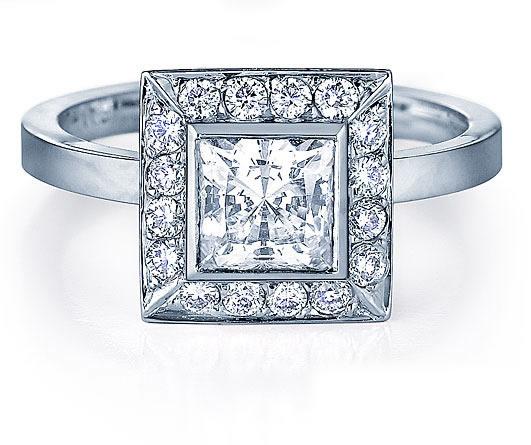 Princess Cut Ring; oooh...me likey... =p