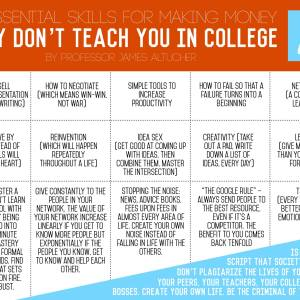 The Skills We All Need (But College Doesn't Teach)