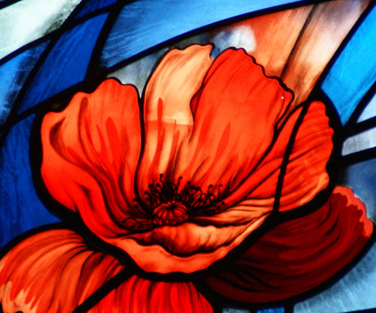 World War One Remembrance stained glass window by stainedglassartist on Flickr https://flic.kr/p/pNXDxb