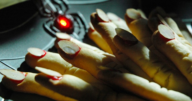 Spooky Finger Cookies