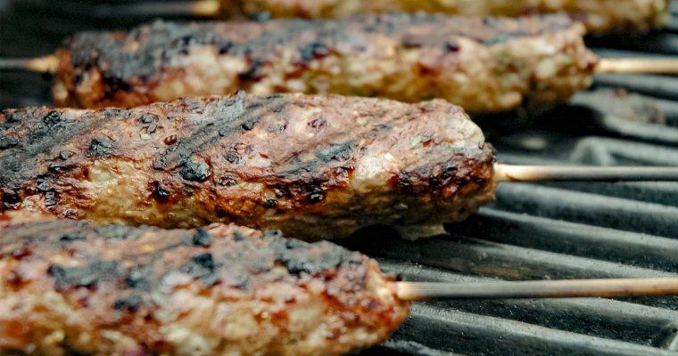 Beef & Pork Kofta Kebab