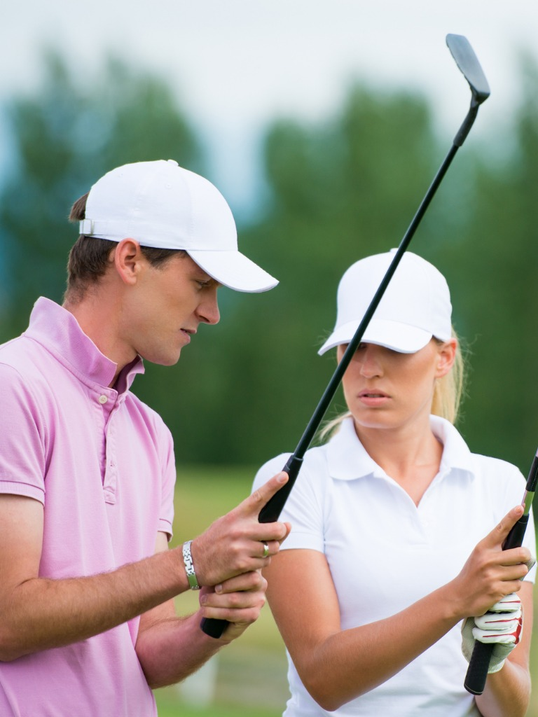 Beginner golf school