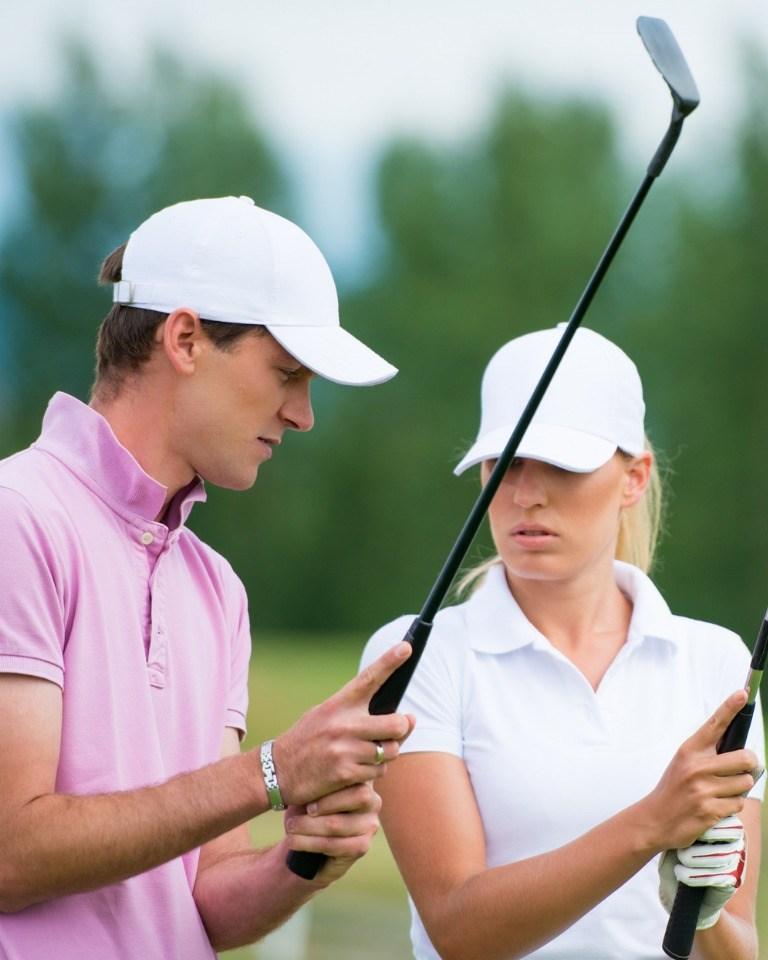 Beginner golf school