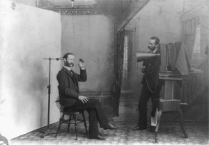 Victorian photography studio