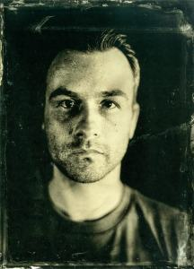 Wet plate collodion portrait of James Abbott by Tony Lovell
