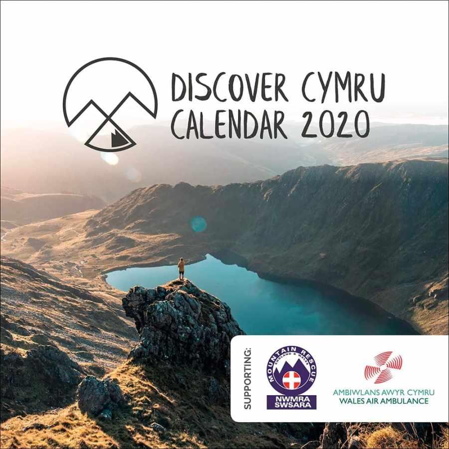 Discover Cymru Welsh Landscapes Charity Calendar 2020