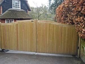 The Amber Broth Hythe Courtyard Gates