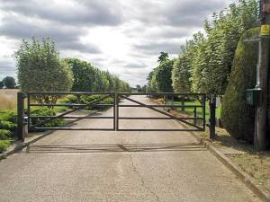 The Bedford Farm Gates