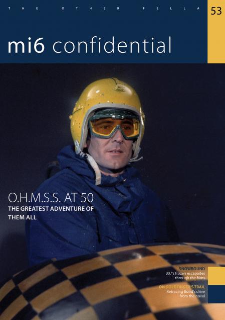 MI6 Confidentail cover #53