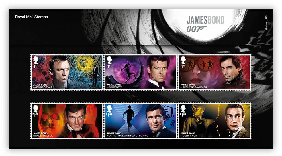 Royal Mail postzegels 2020 presentation pack 002