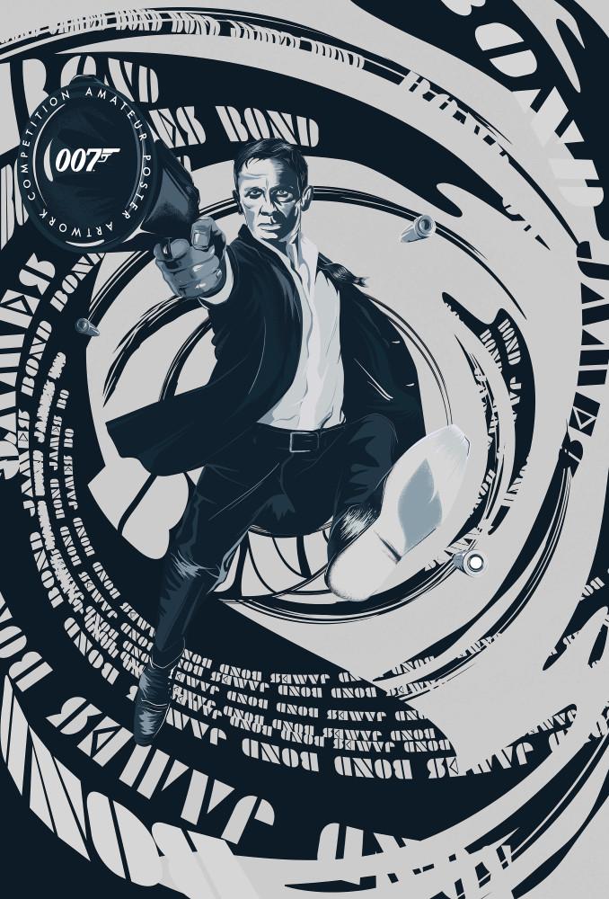 No Time To Die posterwedstrijd finalist 012