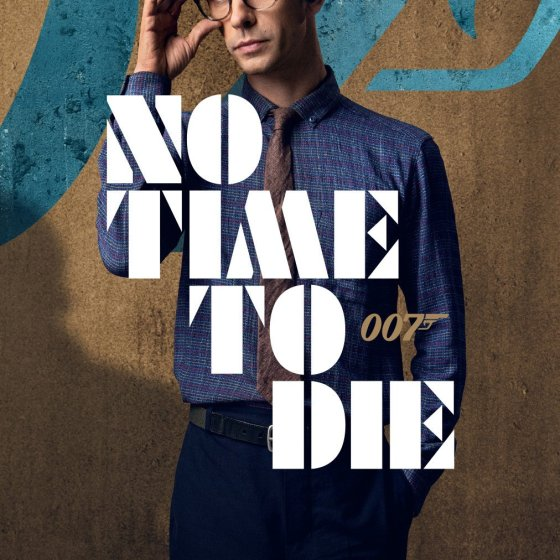 Ben Whishaw No Time To Die Character Poster