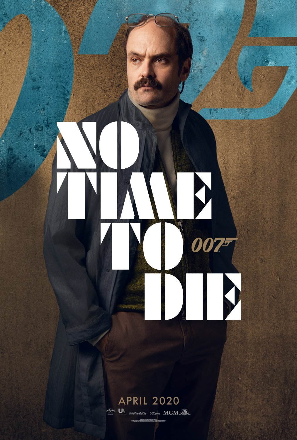 David Dencik No Time To Die Character Poster