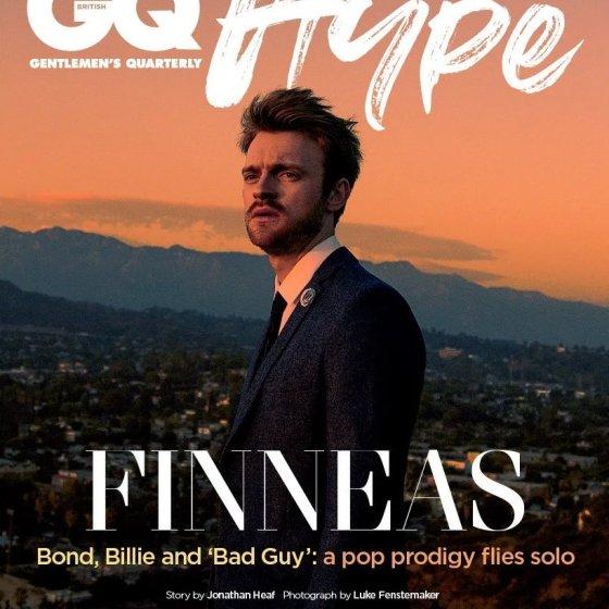 Finneas British GQ