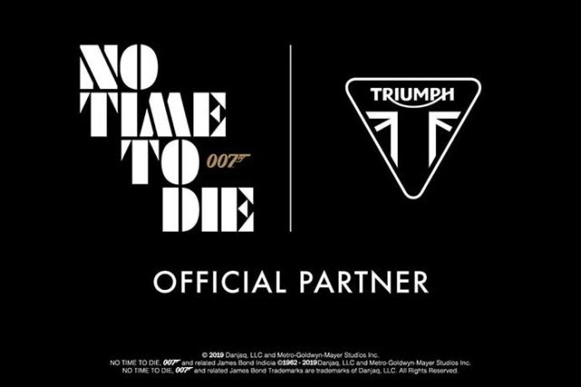 Triumph Motorcycles Official Partner of No Time To Die