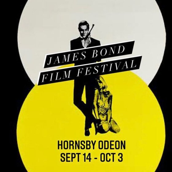 James Bond Festival Hornsby Odeon