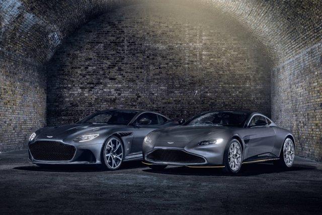 Aston Martin Vantage and DBS Superleggera 007 Edition