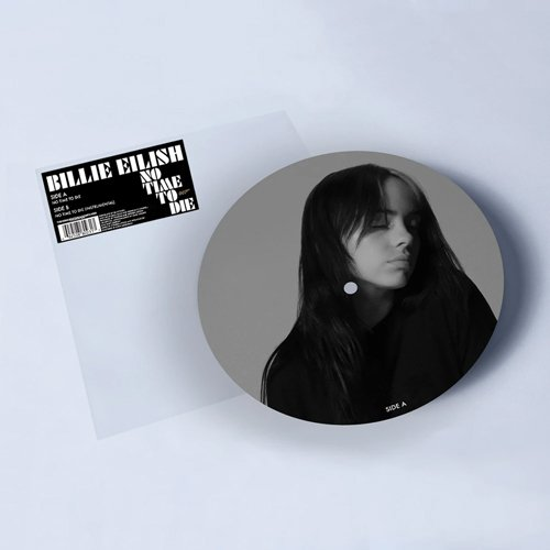 No Time To Die by Billie Eilish Vinyl Picture Disc