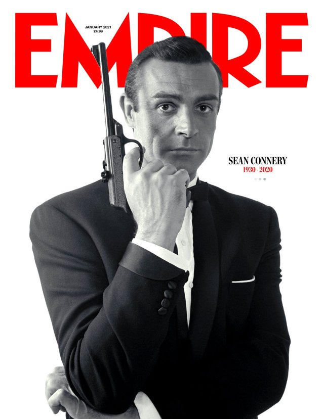 Empire Magazine Sean Connery Commerative Cover