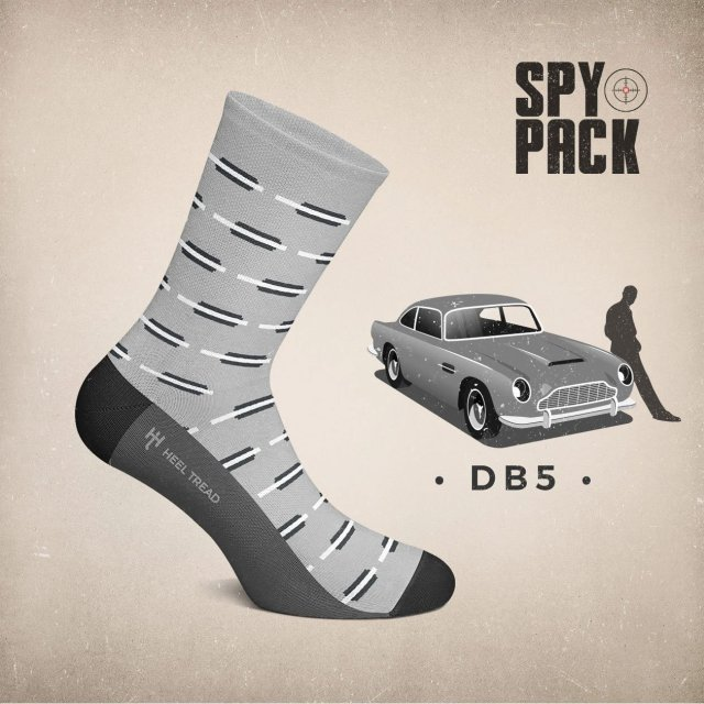 Heel Tread Aston Martin DB5 Socks