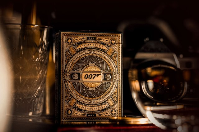James Bond 007 Playing Card by Theory11