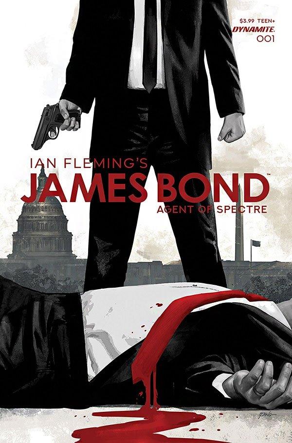James Bond Agent of SPECTRE by Dynamite Comics