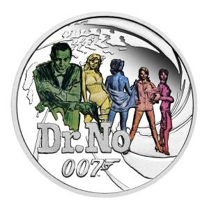 Dr No Coin by the Perth Mint