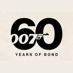 James Bond 60th Anniversary Logo