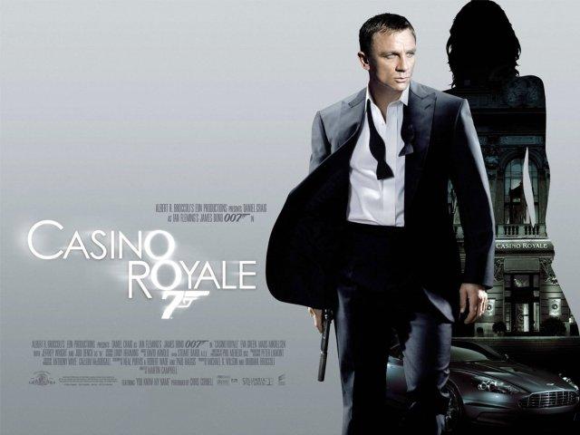 Casino Royale Quad Poster