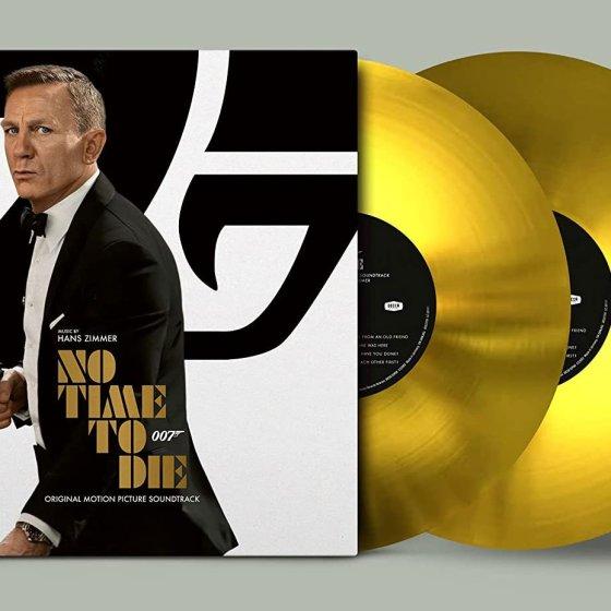 No Time To Die Amazon Exclusive Gold Vinyl