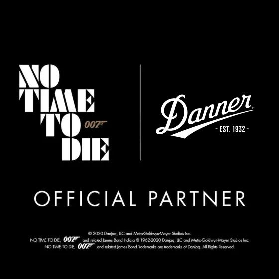 Danner Official Partner No Time To Die