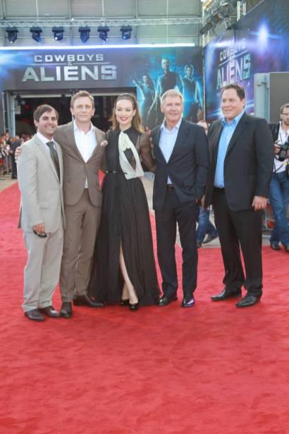 """Premiere de """"Cowboys & Aliens"""" em Londres (12.08.11)"""