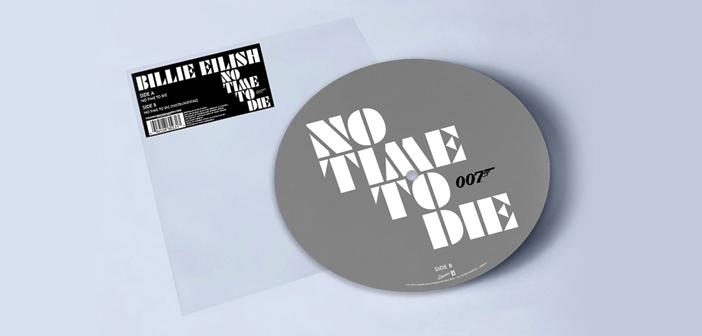 """Edição limitada em Vinil de  """"No Time To Die"""" da Billie Eilish disponível na Amazon"""